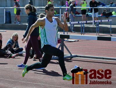 Obrazem: První kolo krajského přeboru družstev v atletice