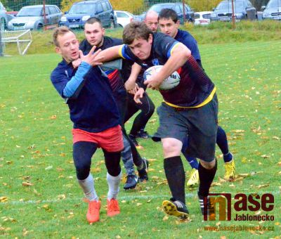 Historicky první turnaj v rugby na Jablonecku