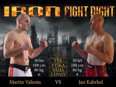 Iron fight night ve čtvrtek poprvé v Jablonci