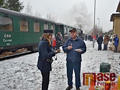 Železniční trať Horka u Staré Paky – Turnov slavila 160 let