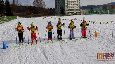 Zimní sportování na ZŠ Tanvald Sportovní