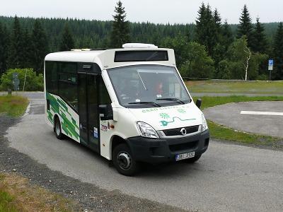 Zkušební provoz linky z Tanvaldu na Smědavu byl úspěšný