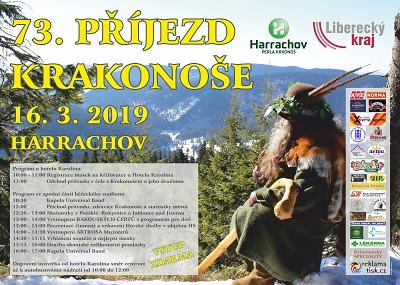 Do Harrachova přijede vítat jaro Krakonoš, už po třiasedmdesáté!
