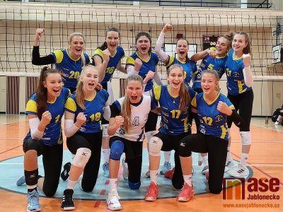 Volejbalistky Bižuterie dvakrát zvítězily nad Sokolem Nusle