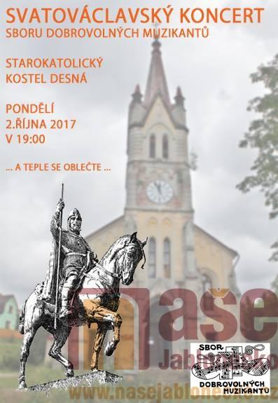 Svatováclavský koncert Sboru dobrovolných muzikantů v Desné