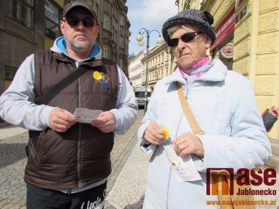 Obrazem: Český den proti rakovině probíhal i v Jablonci
