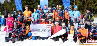 V Břízkách vyhlásili nejlepší naděje v běhu na lyžích