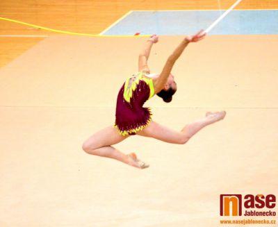 Moderní gymnastky Severočeské oblasti se sešly v Jablonci
