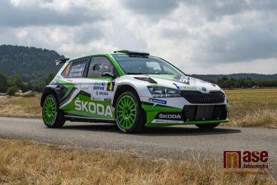 Obrazem: Rychlostní zkoušky Rally Bohemia 2019 v okolí Jablonce