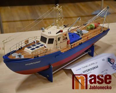 Obrazem: Výstava klubu lodního modelářství Admirál Jablonec