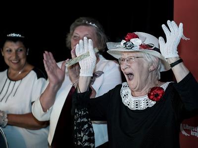 O krajský titul bojovalo šest babiček, vítězkou je Růžena Haidlová