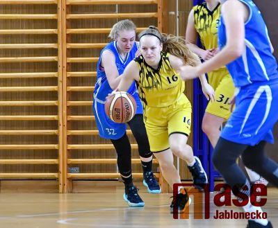 Dvě výhry basketbalistek Bižuterie na play – off nestačily