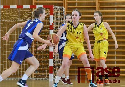 Mladé basketbalistky ukončily letošní sezonu v juniorské lize