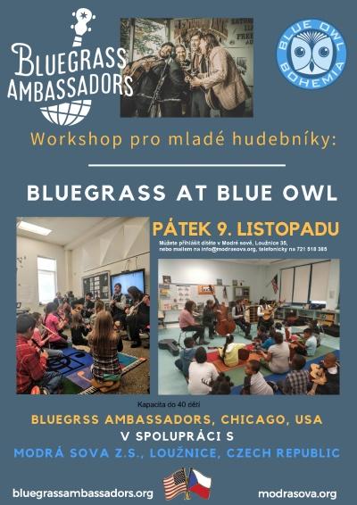 Chicagská kapela ukáže bluegrass nastupující české generaci