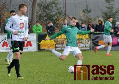 Obrazem: Poslední podzimní zápas béčka FK Jablonec