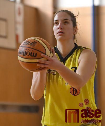 Basketbalistky udolaly v Praze sokolky z Nuslí