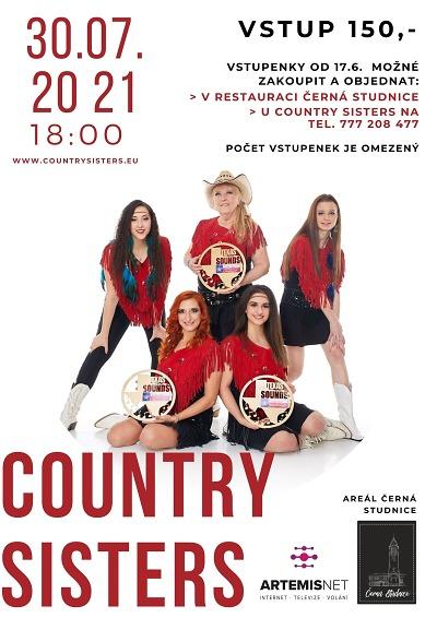 Country Sisters zazpívají na Černé Studnici