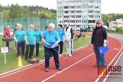 Obrazem: Tanvaldské sportovní hry seniorů 2019