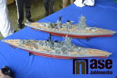 Pozvánka na soutěže modelů lodí na Novoveském koupališti v Jablonci