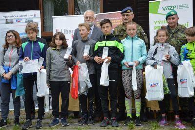 ZŠ Tanvald Sportovní zvítězila na Ještědské hlídce v Hrádku