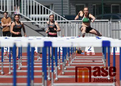 Obrazem: První kolo krajského přeboru atletických družstev