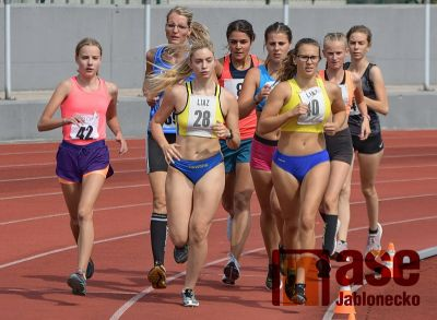 Obrazem: Čtvrté kolo přeboru družstev mužů a žen v atletice