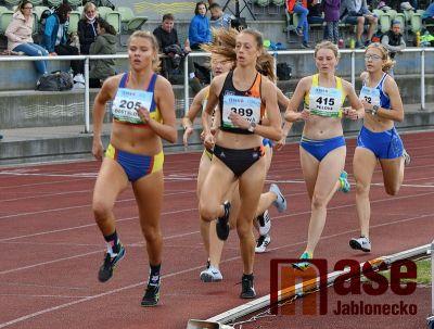 Mistrovství v atletice do 22 let se v Jablonci vydařilo na jedničku