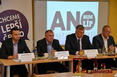 Kandidátem na primátora Jablonce za Hnutí ANO je Milan Kroupa