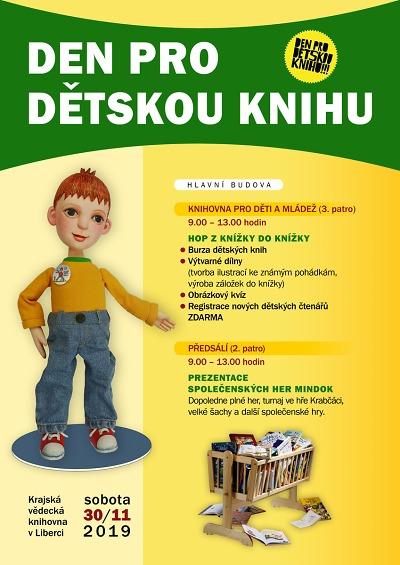 Den pro dětskou knihu přinese obří šachy i legendárního Krabata
