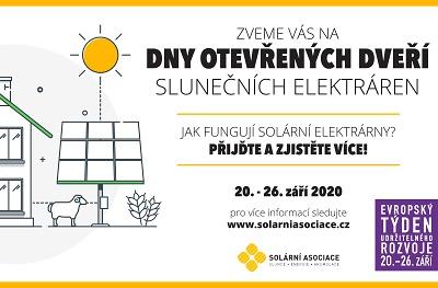 Sluneční elektrárny otevřou své brány, také FTV Farma Pěnčín
