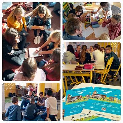 Děti ze sedmi jabloneckých ZŠ sbírají hlasy na podporu svých nápadů