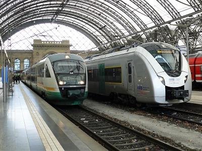 Adventní vlaky budou opět jezdit z Liberce až do Drážďan