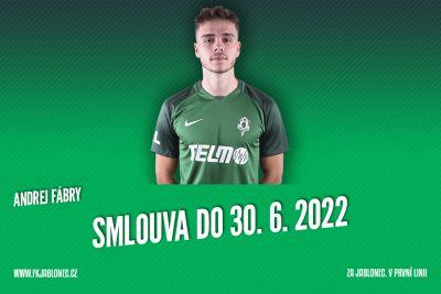 Andrej Fábry podepsal smlouvu