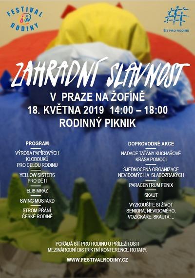 Akce Festivalu rodiny proběhnou i v Libereckém kraji