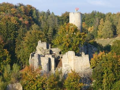 Zřícenina hradu Frýdštejn je perlou Maloskalska
