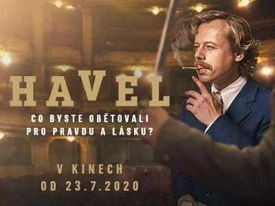 Film Havel míří i do jabloneckých kin