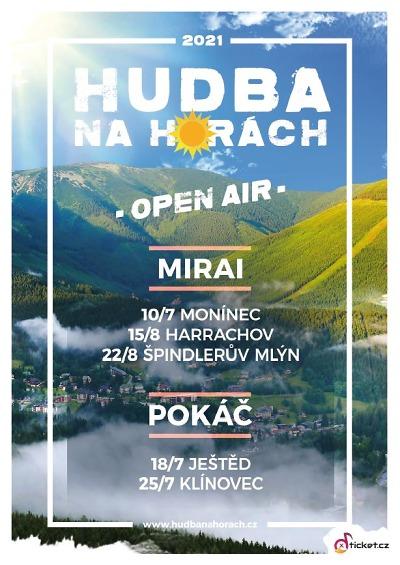 Kamzík fest přináší do českých hor zábavu pro malé i velké