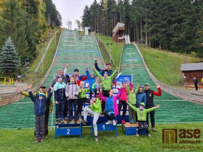 Ohlédnutí za MČR ve skoku na lyžích v Desné