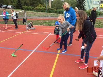 Obrazem: Sportovní odpoledne na Městském stadionu v Tanvaldě