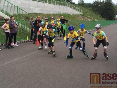 Obrazem: In line závody v rámci seriálu PBT 2019 v Tanvaldě