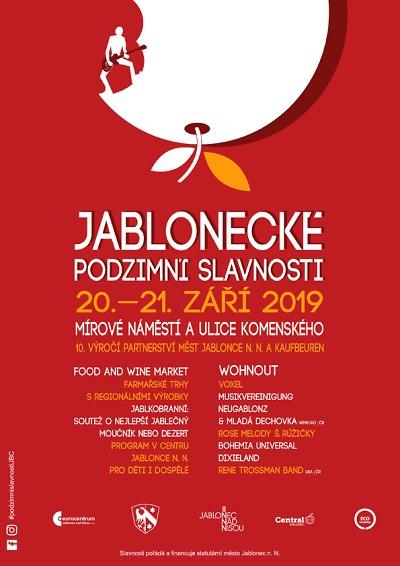 Jablonecké podzimní slavnosti se odehrají v novém kabátě