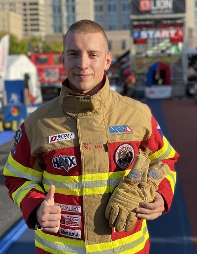 Liberecký hasič se vrátil z mistrovství světa v Alabamě