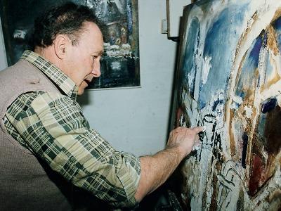 Maloskalský Chagall Josef Jíra by letos oslavil 90