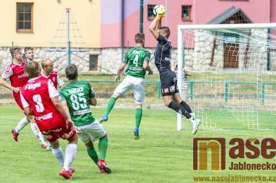 Celky z Jablonecka vedou fotbalovou divizi