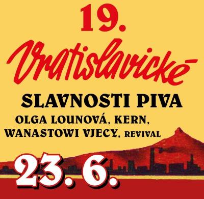 Na Slavnostech Vratislavického piva zazpívá Olga Lounová i Vojta Kotek