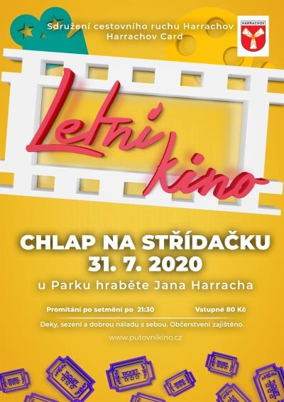 Letní kino v Harrachově promítá Chlapa na střídačku