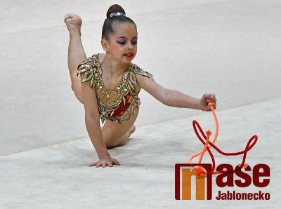 V Jablonci opět soutěžily moderní gymnastky