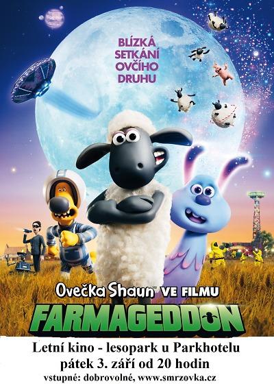 Letní kino na Smržovce ukáže Ovečku Shaun ve filmu Farmageddon