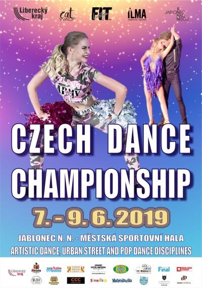 Taneční šampionát v disciplínách WADF se vrací do Jablonce