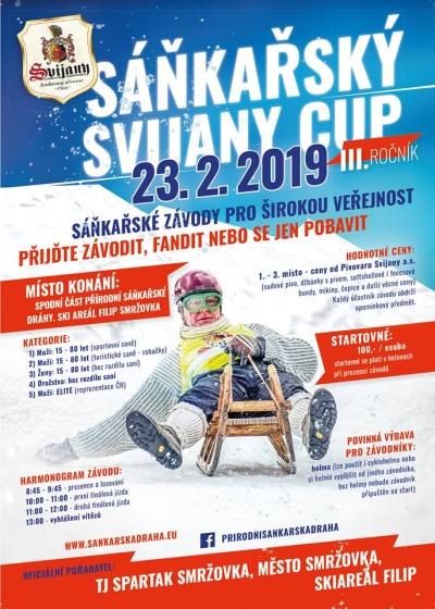 Třetí ročník sáňkařského Svijany cupu chystají na Smržovce